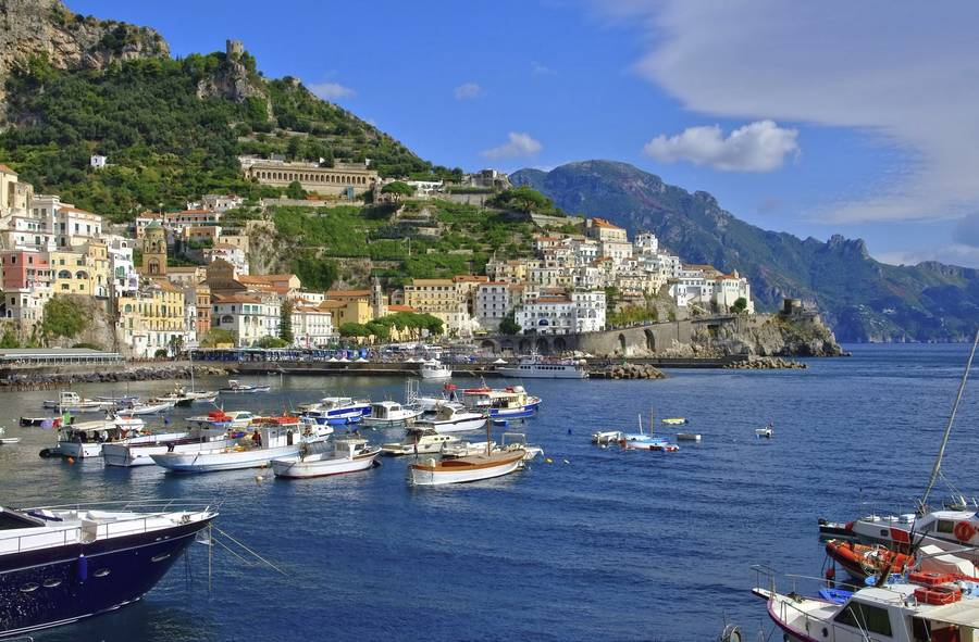 how to get from rome to amalfi coast by train