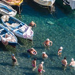 Beaches in Sorrento