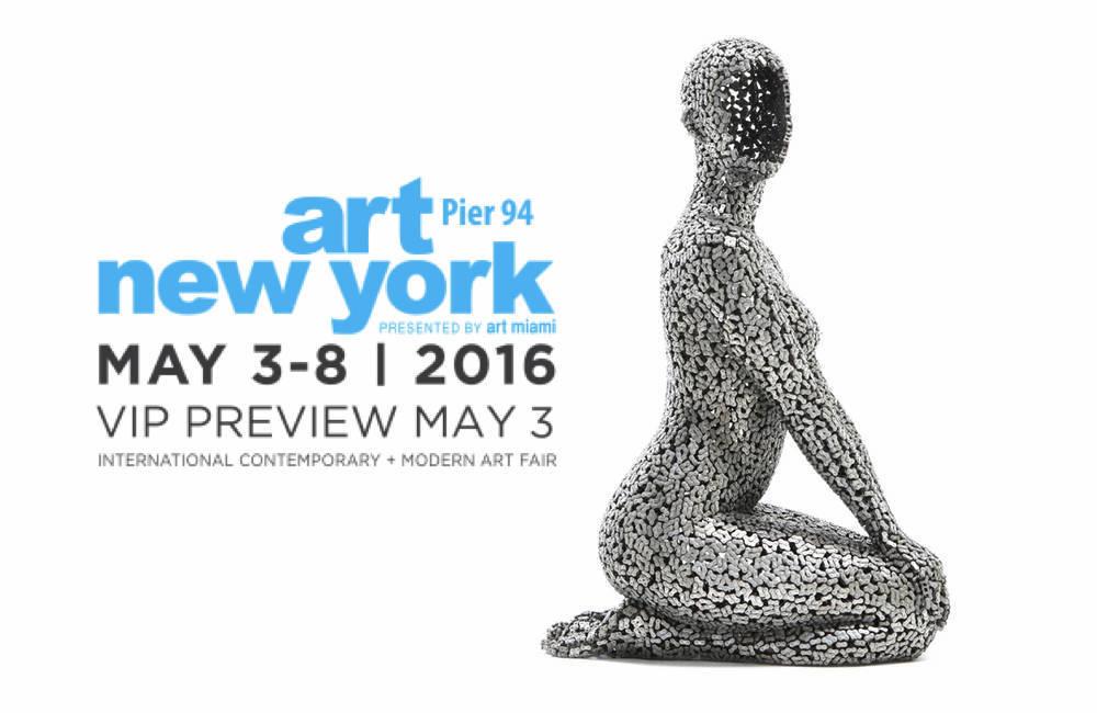 Liquid art system at ART NEW YORK 2016