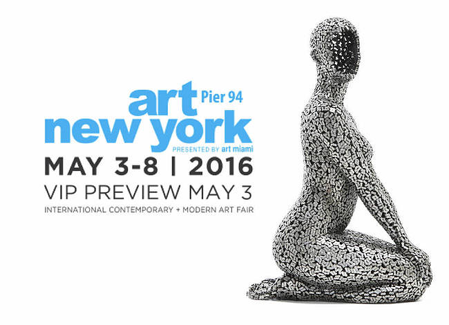 Liquid art system at ART NEW YORK 2016