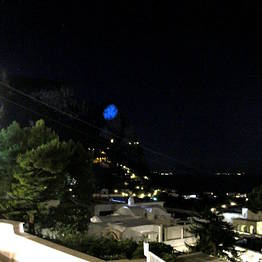 The Moon on Monte Cappello