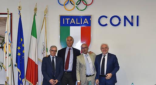 Presentazione dell'avvio gara per la realizzazione del Centro Sportivo Polivalente