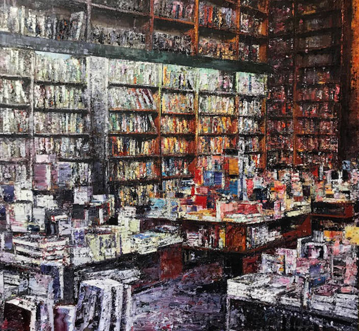 Interno di Libreria (Seeber)