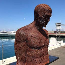 Capri, arte contemporanea nel porto e in piazzetta