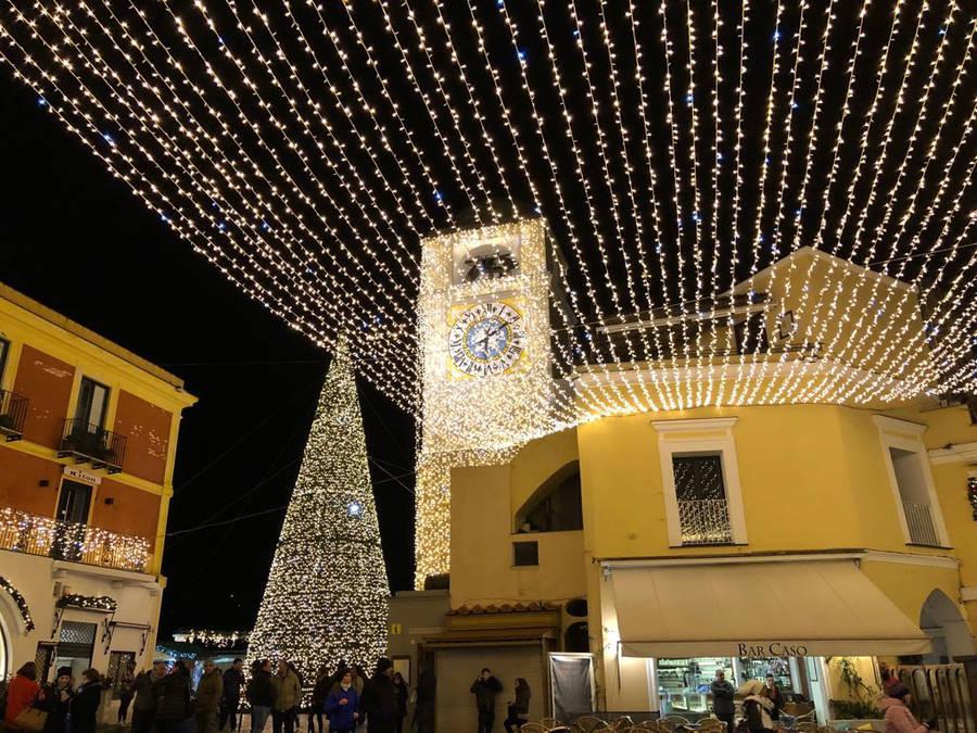Capri in December