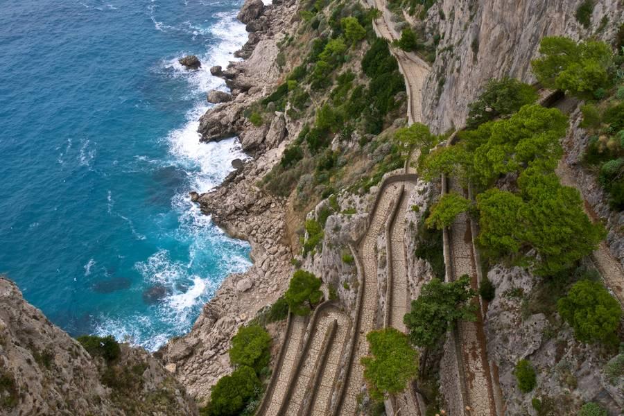 Capri in January