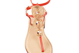 Jewel sandals - Da Costanzo Capri