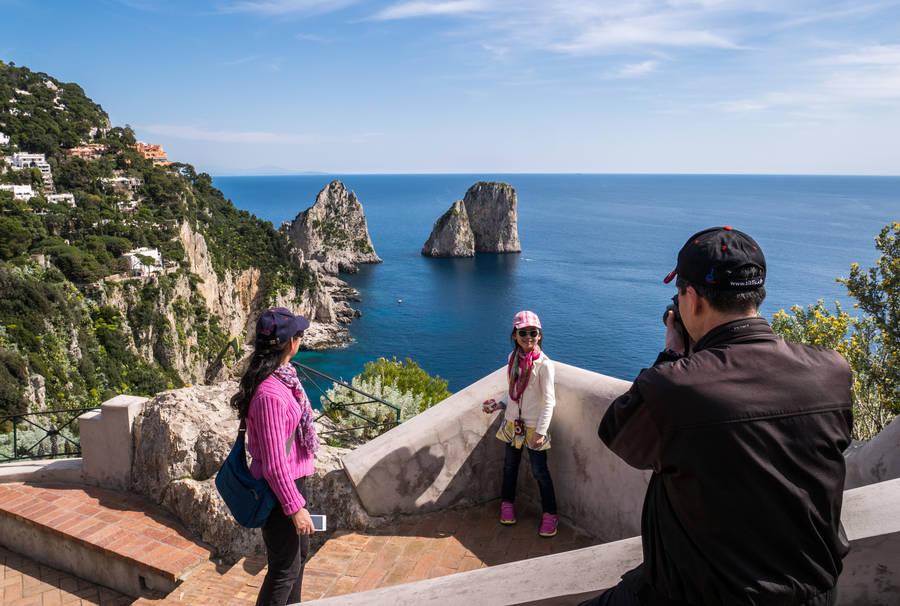 Capri in March