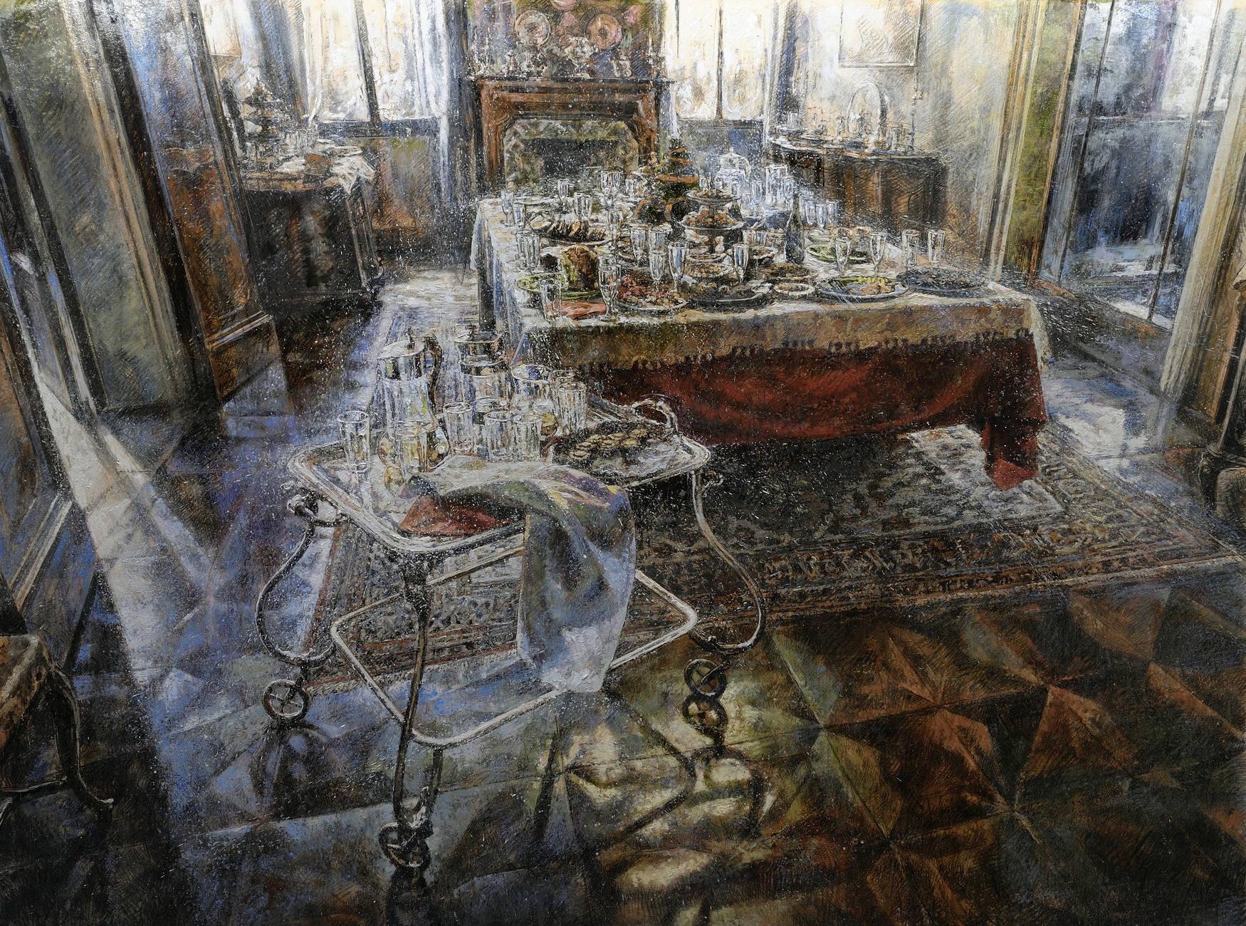 Liquid art system raffaele minotto - Paul signac la sala da pranzo ...