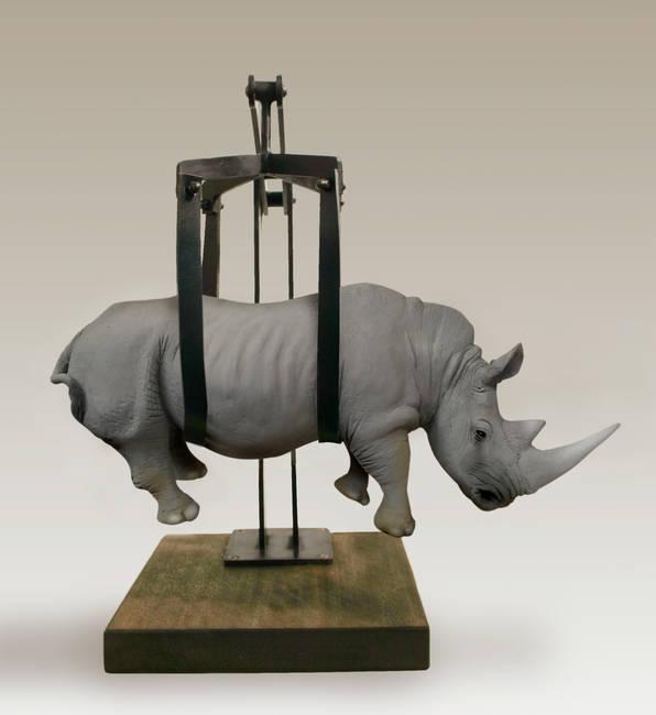Peso del tempo sospeso/Rhino piccolo