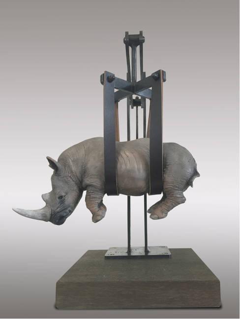 Peso del tempo sospeso/Rhino mini