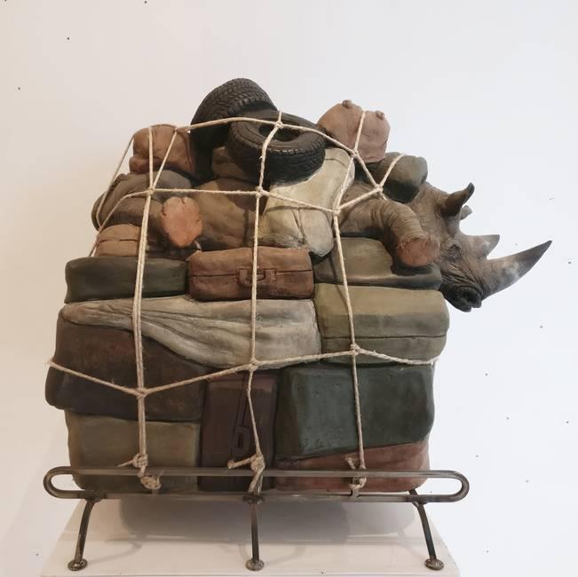 Bagaglio Rinoceronte grande