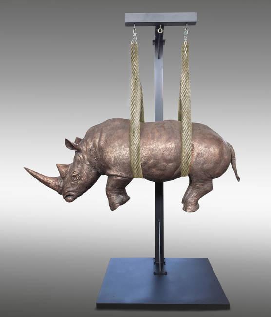 Il Peso del tempo sospeso/Rhino Monumentale medio
