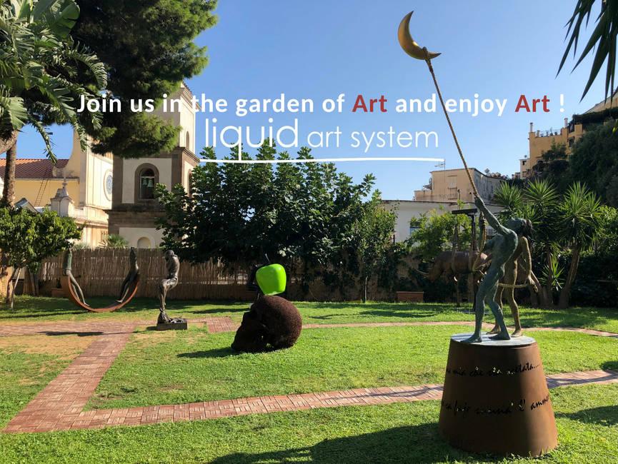 Aperitif of Art - Liquid Garden Positano
