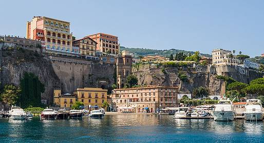 Visiting Sorrento in June