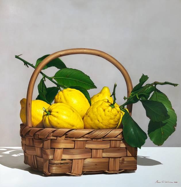 Cesto con limoni