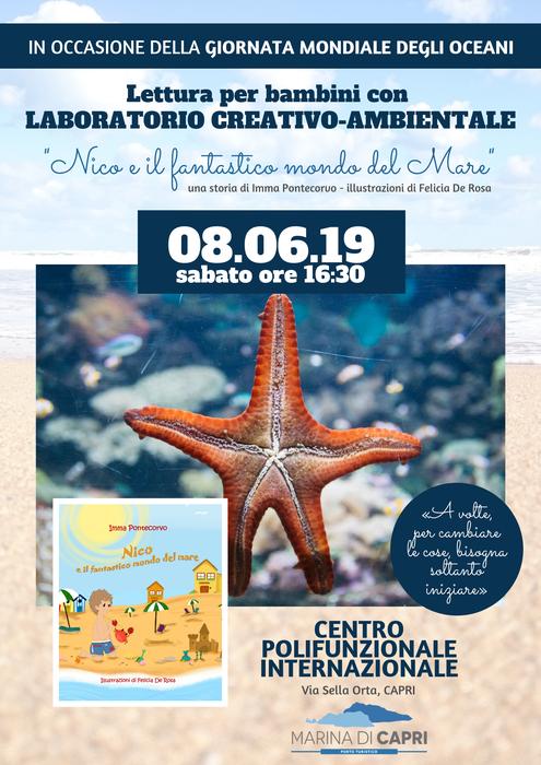 """World Ocean Day """"Nico e il fantastico mondo del mare"""""""