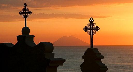 Calabria, sea, and sacrality