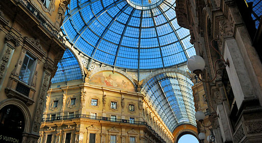 Shopping and art in Milan