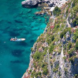 Passeio de barco ao redor da Ilha