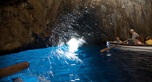Grotta Azzurra - The Blue Grotto Capri - Capri