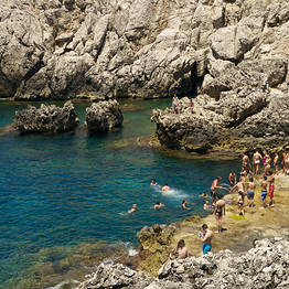 Punta Carena e o Farol