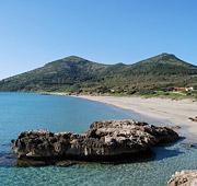 La costa sud della Sardegna