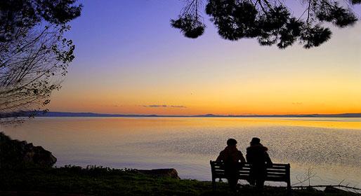 Lazio di laghi, miracoli e fiabe