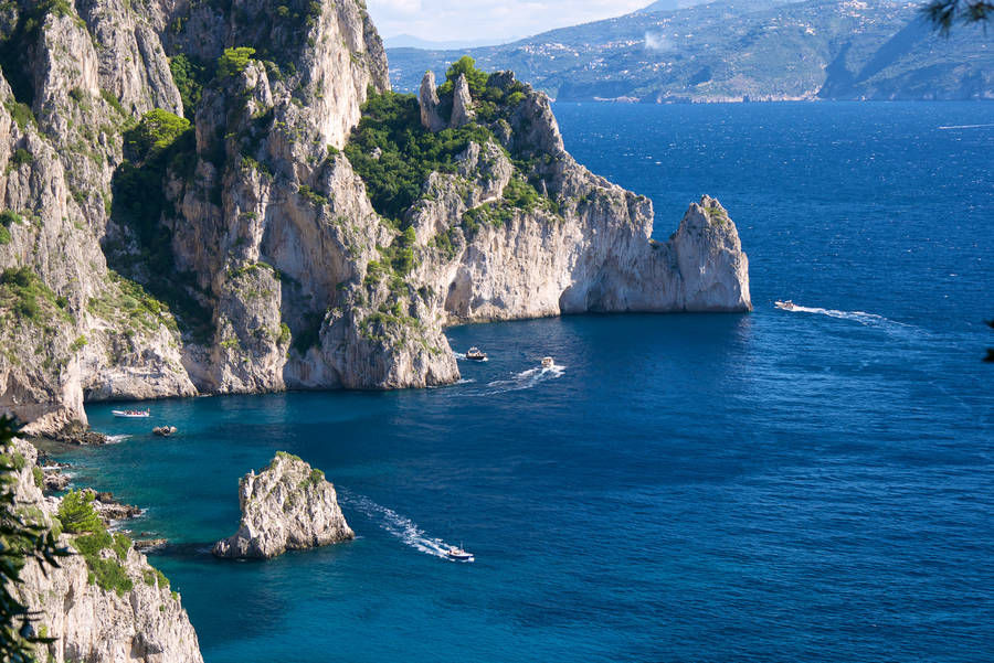 Itineraries Pizzolungo Island Of Capri