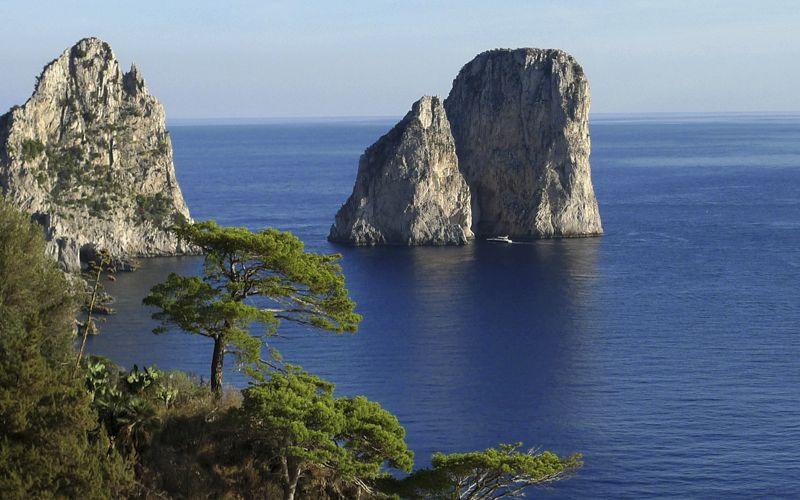 Città Di Capri I Faraglioni Di Capri