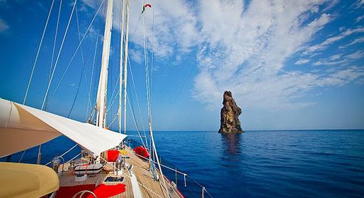 Sicilian island beaches