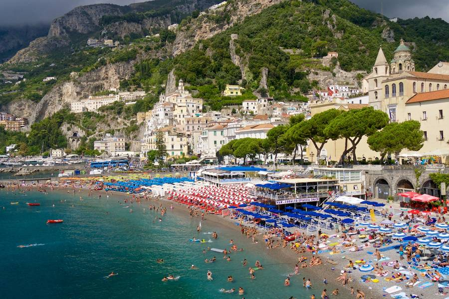 Nature Beaches Of Amalfi Coast