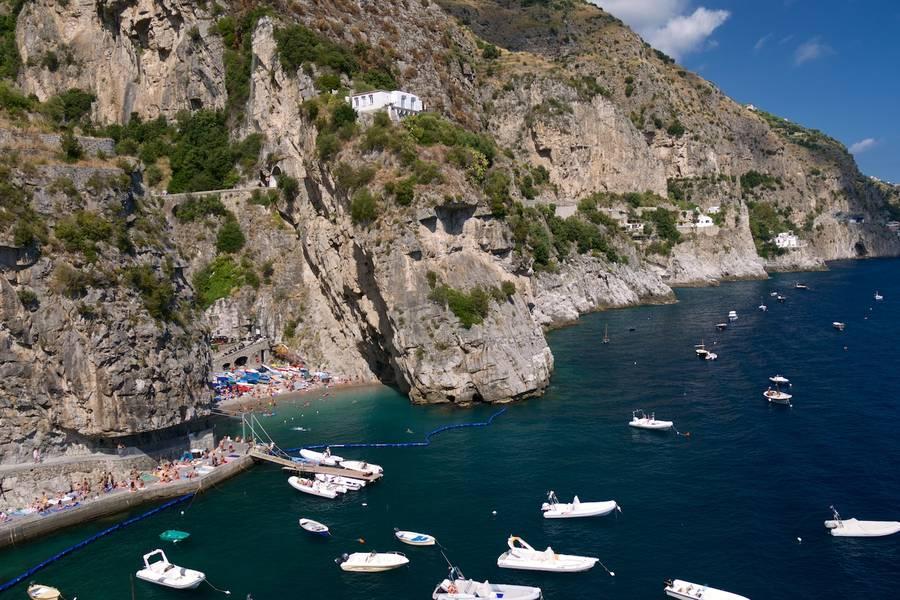 Furore Italy Map.Beaches Of Praiano Nature Amalfi Coast