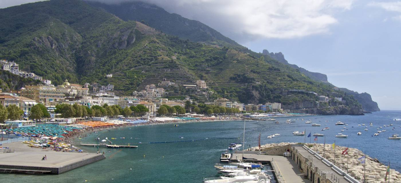 Maiori Italy Map.Maiori And Minori Amalfi Coast Guide