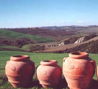 Terracotta Toscana originale a Petroio Hotel