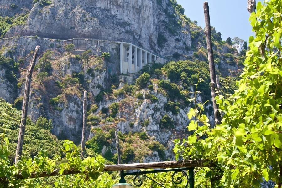 A escadaria Fenícia