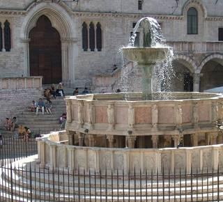 Perugia domina dall'alto della collina Hotel