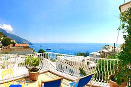 Deluxe double with furnished sea-view terrace NR