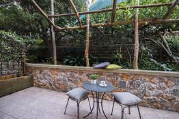 Doppia Classic vista giardino