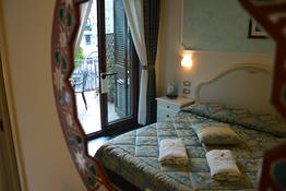 Double superior room with balcony