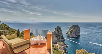 Hotel Punta Tragara Capri Natural Arch hotels