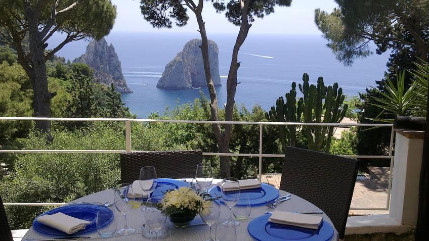Il Geranio Restaurantes Capri