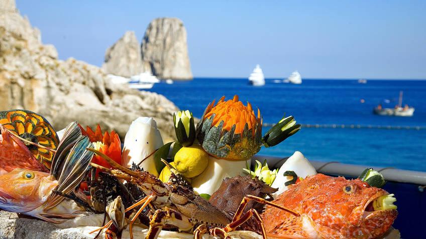 Torre Saracena Restaurantes Capri