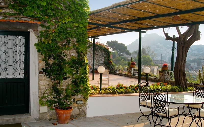 La Josie House rental Capri