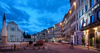 Hotel Roma Firenze Giotto's bell tower hotels