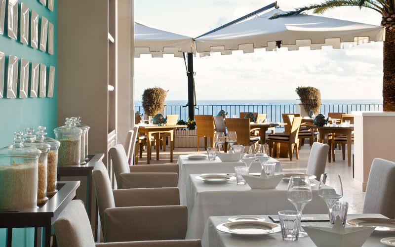 Restaurant Terrazza Tiberio on Capri - Info and Photos: Tastes of ...