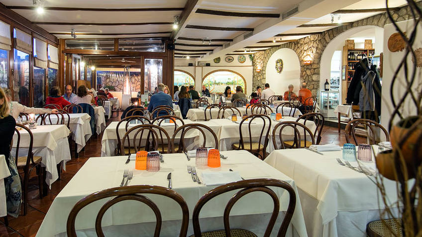 Le Arcate Restaurants Anacapri