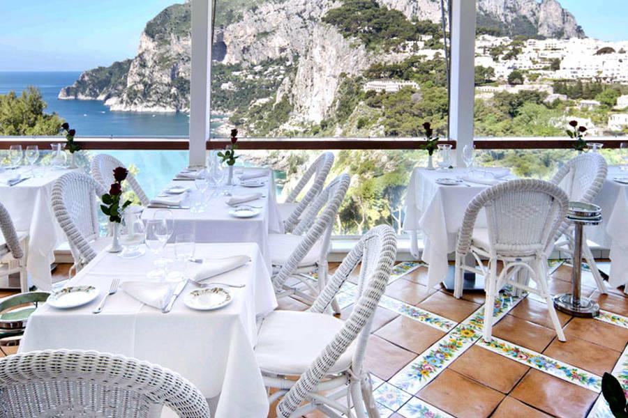 Restaurant Terrazza Brunella on Capri - Info and Photos: The terrace ...