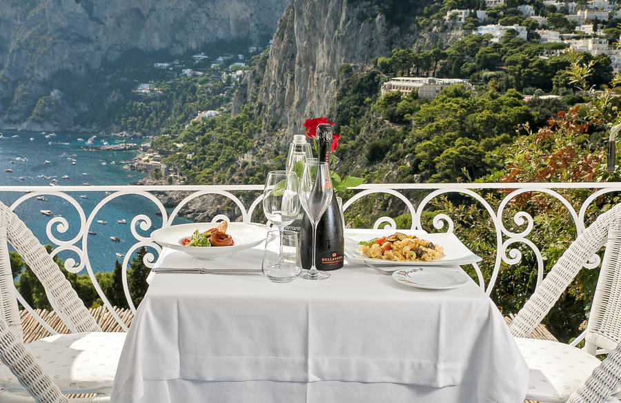 Restaurant Terrazza Brunella On Capri Info And Photos The
