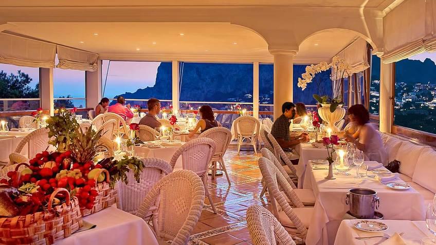 Terrazza Brunella Restaurants Capri